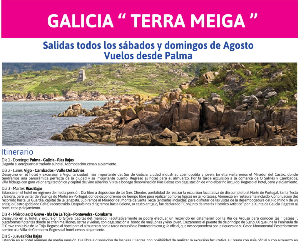 """Galicia """"Terra Meiga"""""""