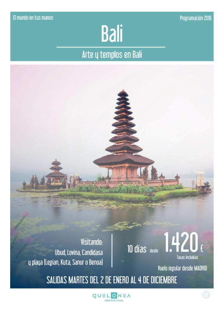 BALI : Arte y Templos