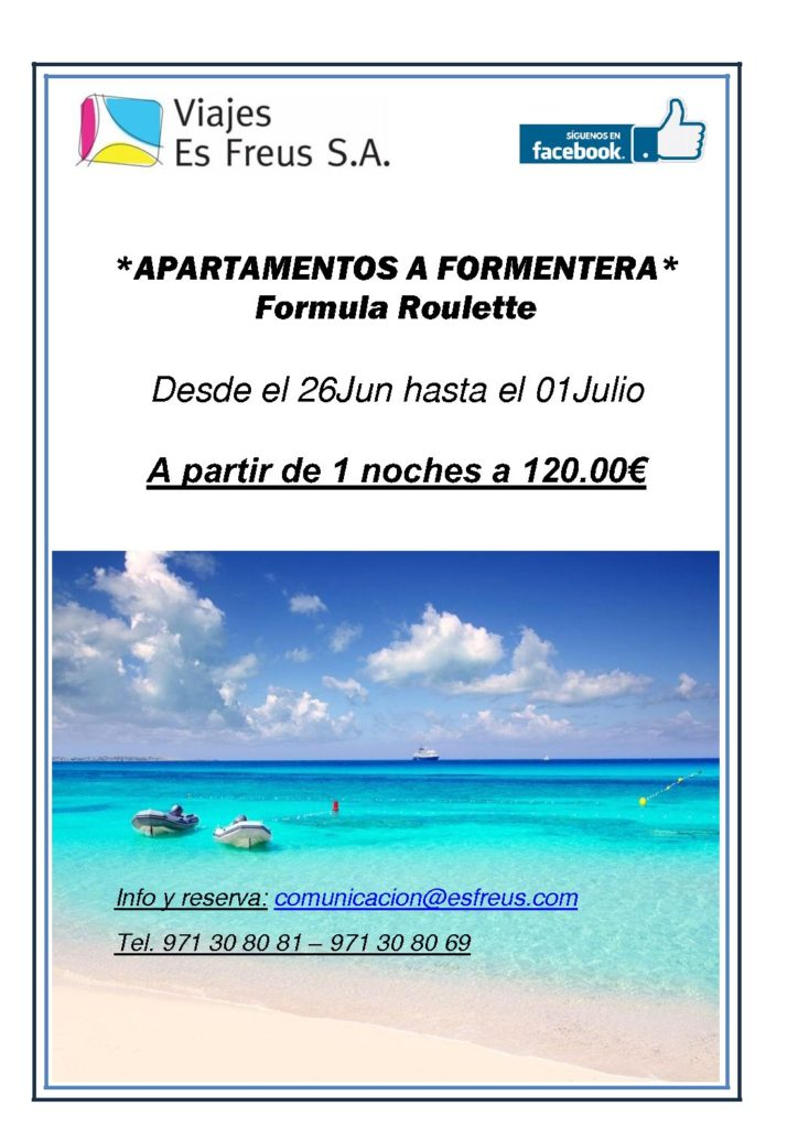 STAY IN FORMENTERA