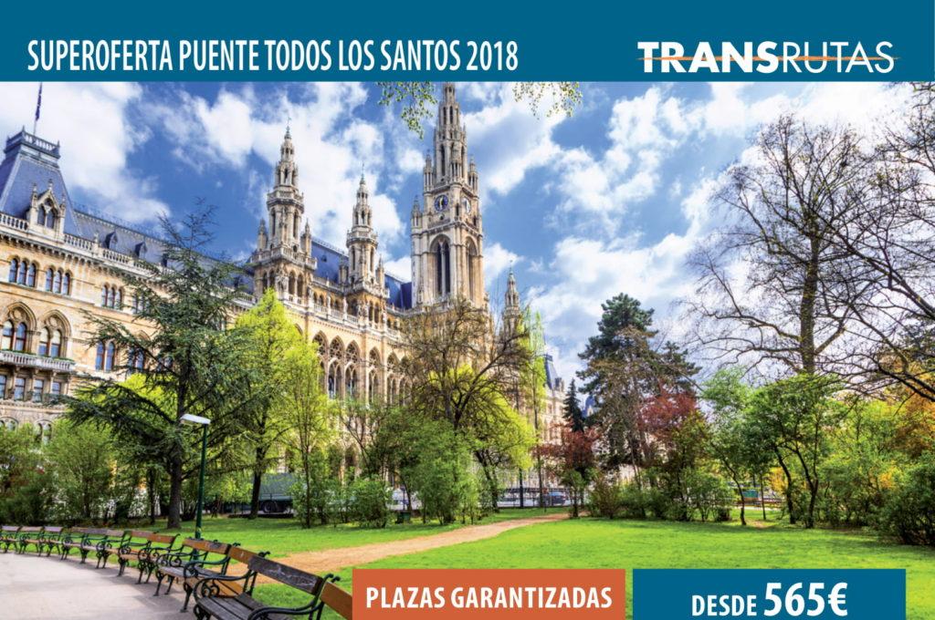 Superoferta Puente de Todos los Santos 2018 Viena
