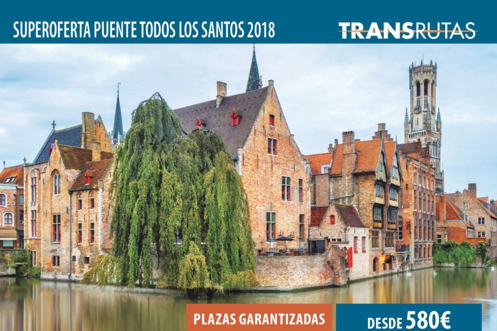 Superoferta Puente de todos los Santos 2018 Bruselas