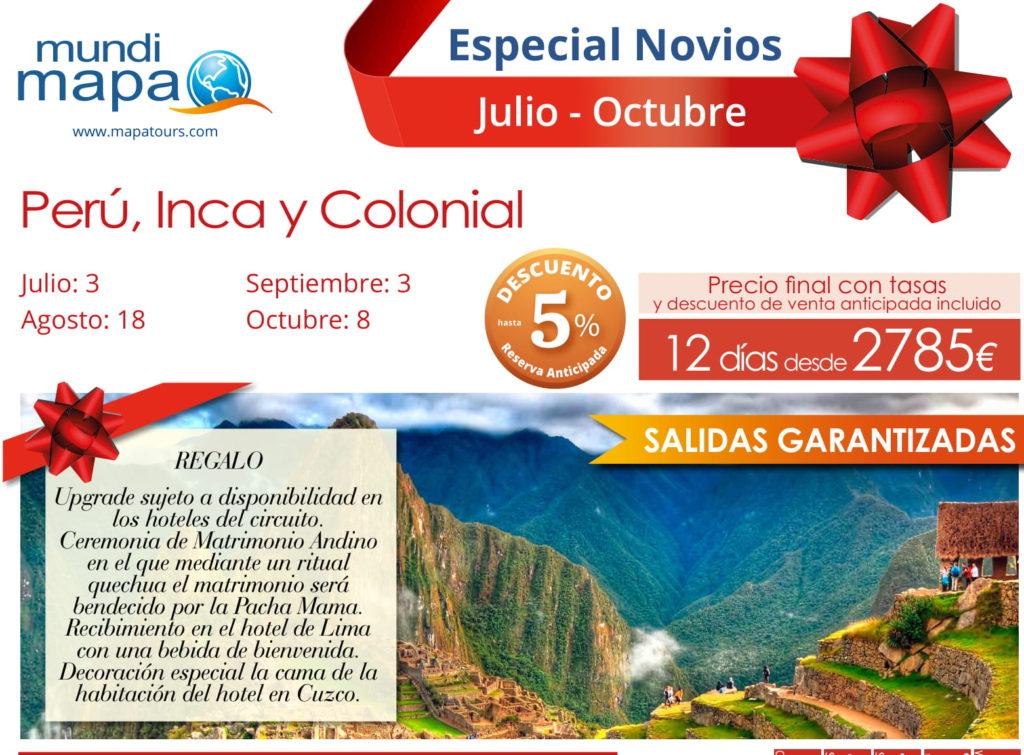 Perú, Inca y Colonial