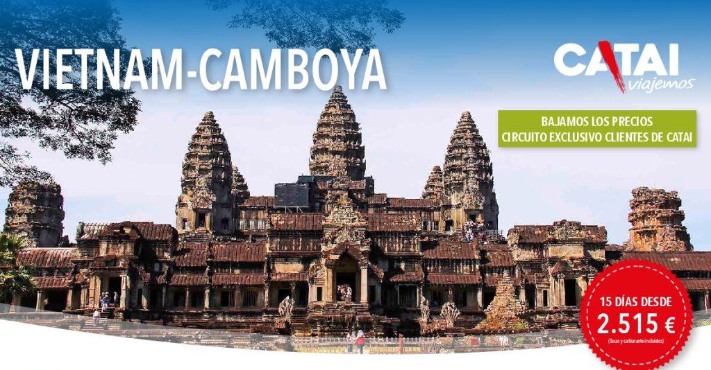 VIETNAM-CAMBOYA - 15 DIAS DESDE 2515€ - SALIDA OCTUBRE NOVIEMBRE Y DICIEMBRE