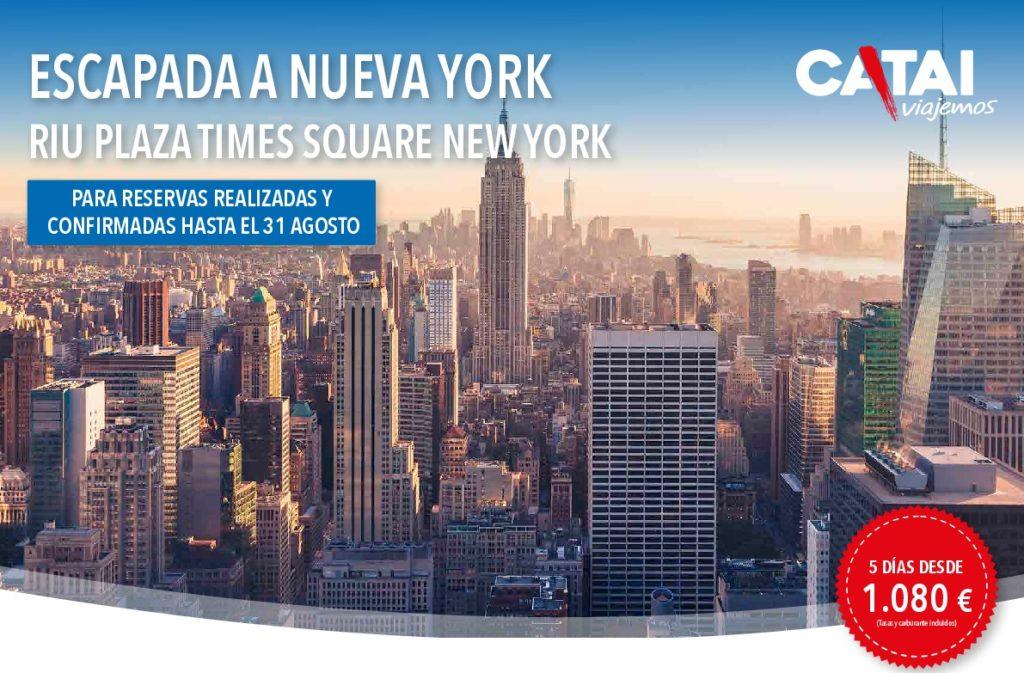 NUEVA YORK - 5 DIAS DESDE 1080€ -SALIDAS DIARIA DEL 01SEPTIEMBRE AL 19 DICIEMBRE