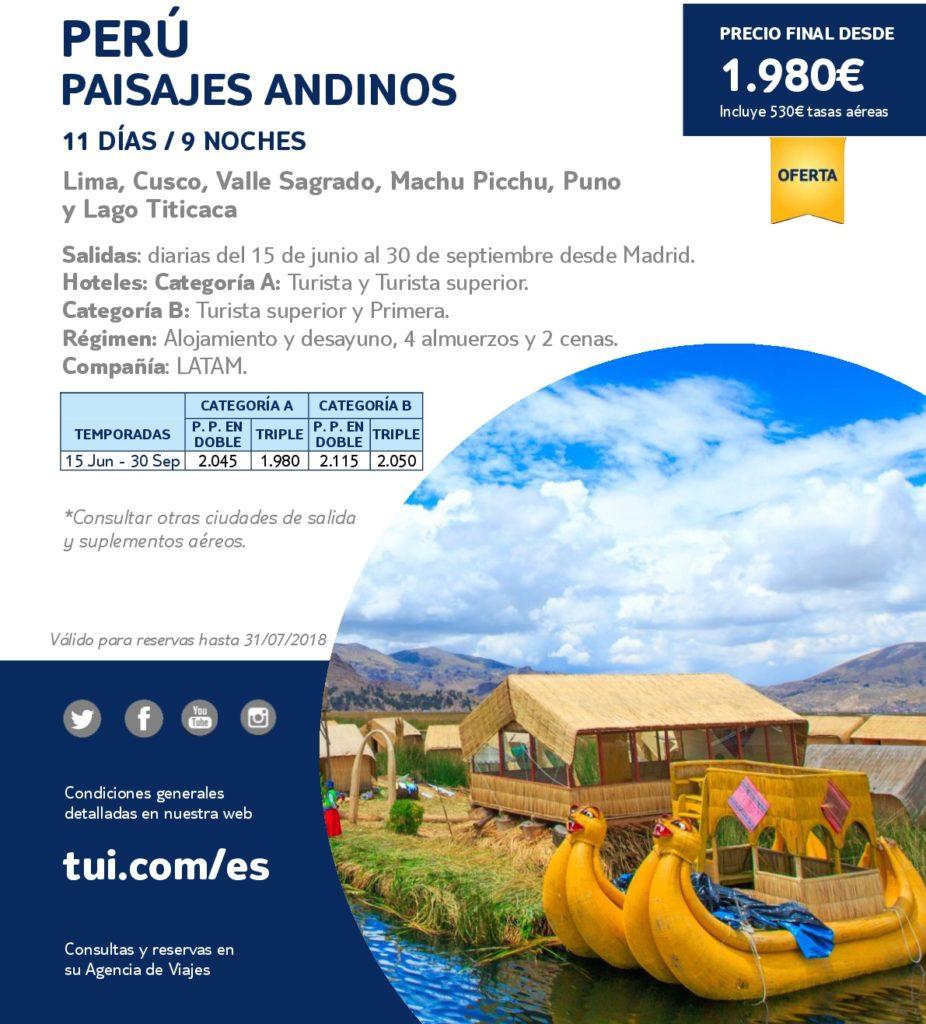 Perú Paisajes Andinos