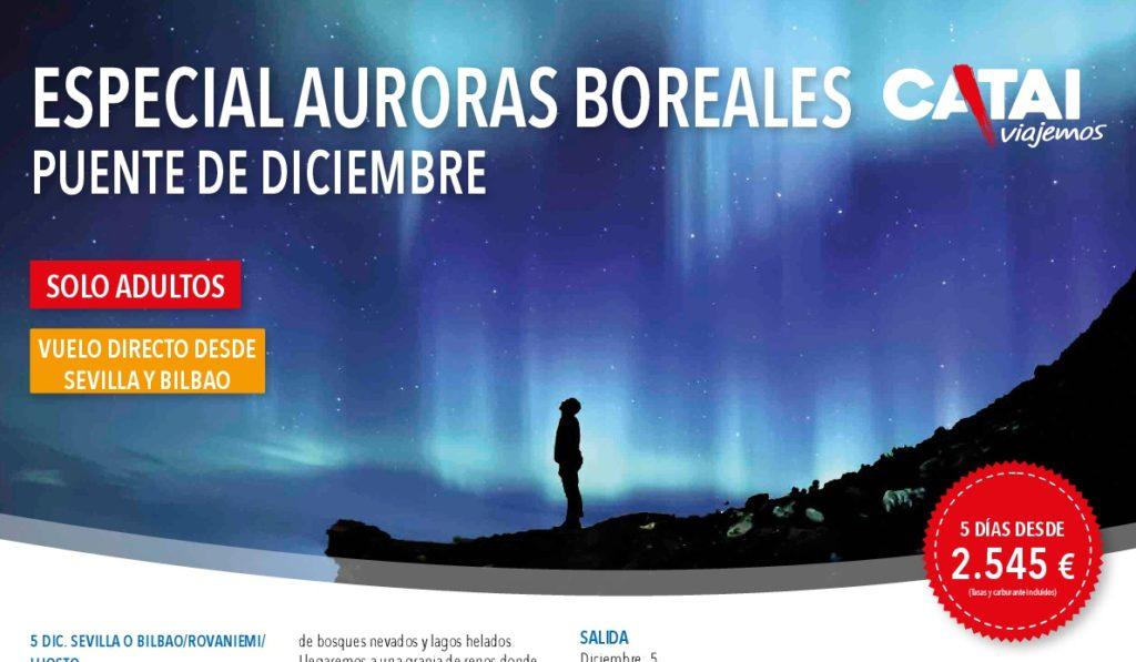 ESPECIAL AURORAS BOREALES - PUENTE DE DICIEMBRE