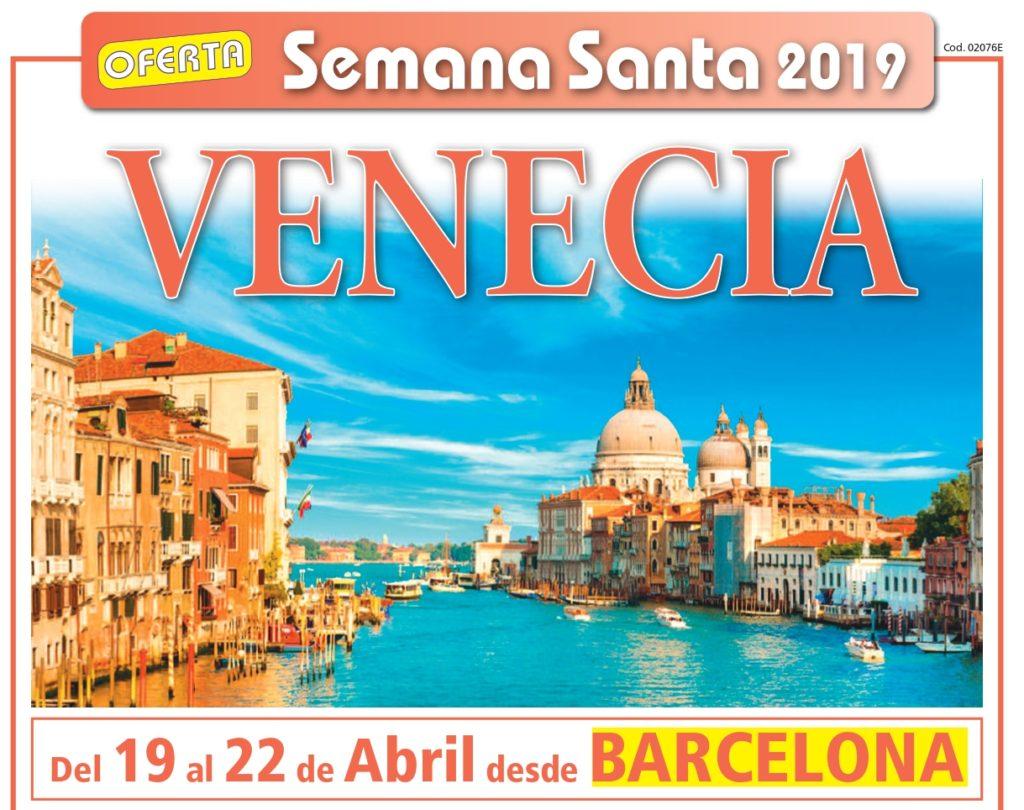 VENECIA  - SEMANA SANTA DESDE BARCELONA